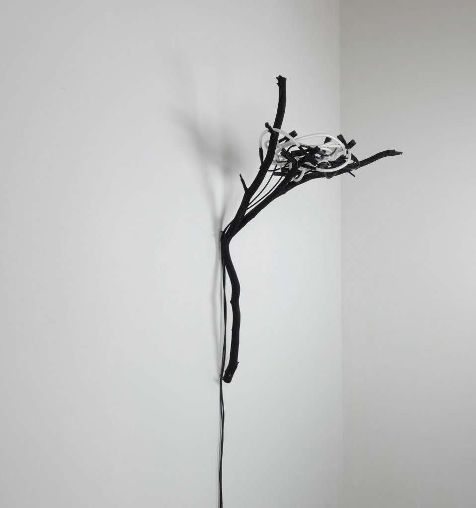 Ryan Livingstone Canadian Artist Sculptor Contemporary Art Crow Nest Neon Sculpture Nest From The Landscape Toronto New Brunswick Art Inspired by Our Relationship with Nature